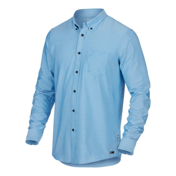 ICON LONG SLEEVE WOVEN SHIRT