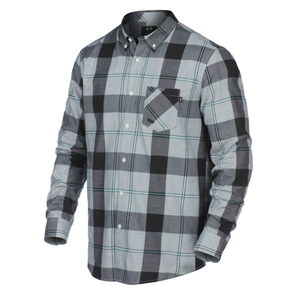LONG SLEEVE SHRED WOVEN SHIRT